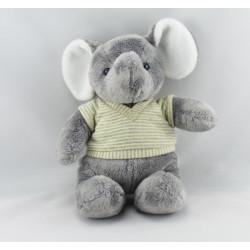 Doudou éléphant bleu NICOTOY