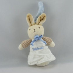 Doudou attache tétine fillette lutin NICOTOY