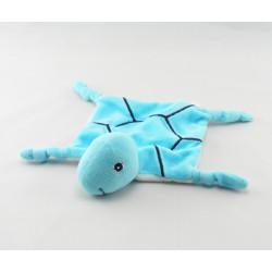 Doudou plat tortue bleu ABC BIODERMA