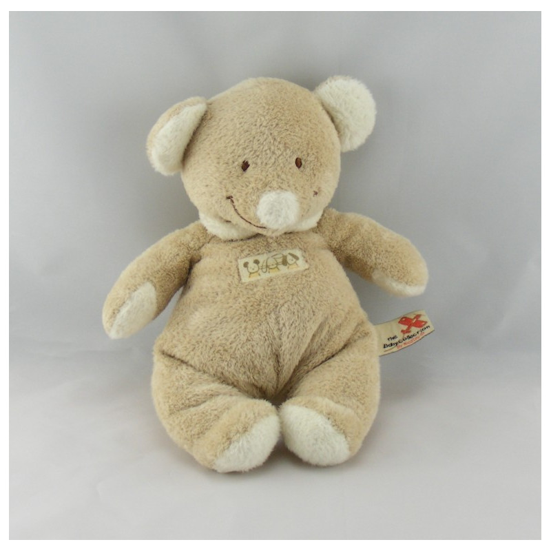 Doudou ours Beige NICOTOY