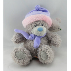 Doudou ours patapouf rose orange vert coccinelle LOVELY