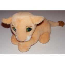 Grande Peluche Simba le roi lion allongé DISNEY 60 CM