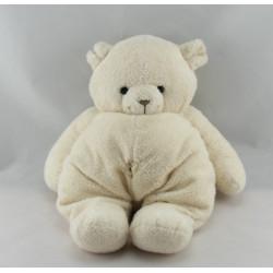 Doudou ours blanc NOUNOURS