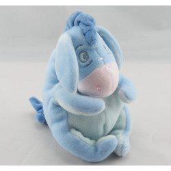 Doudou Bourriquet bleu tres clair l'ami de Winnie Disney Baby