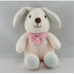 Doudou luminou lapin rose JEMINI