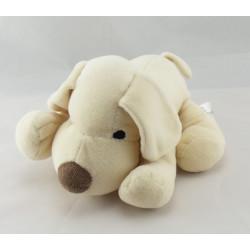 Doudou chien beige marron blanc H ET M HM