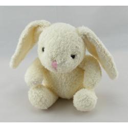 Doudou lapin blanc mouchoir HISTOIRE D'OURS