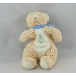 Doudou ours beige blanc cerf volant BENGY