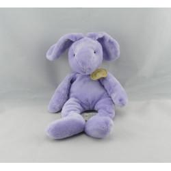 Doudou lapin violet mauve BABY NAT