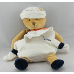 Doudou et Compagnie ours marin avec mouchoir