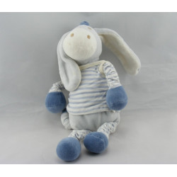 Doudou ane cheval bleu SUCRE D'ORGE