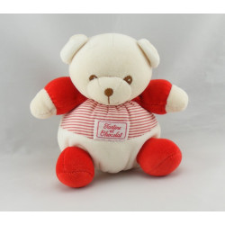 Doudou ours marin rayé rouge TARTINE ET CHOCOLAT