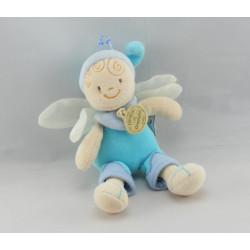 Doudou Lutin Fée papillon bleu DOUDOU ET COMPAGNIE