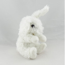 Doudou lapin blanc tout doux DOUDOU ET COMPAGNIE