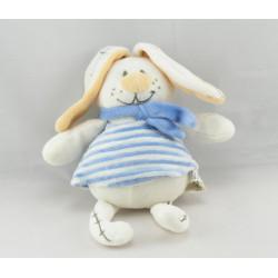 Doudou un amour de lapin bleu VETIR