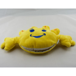 Doudou soleil jaune marionnette Pampers