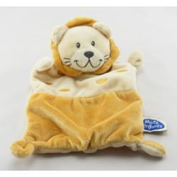 Doudou plat lion beige MOTS D'ENFANTS