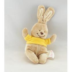 Doudou lapin maillot jaune BENGY