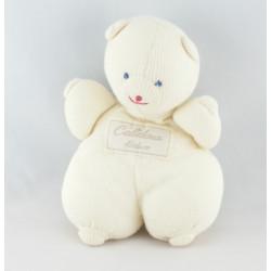 Doudou et compagnie marionnette lapin blanc Calidoux Nature