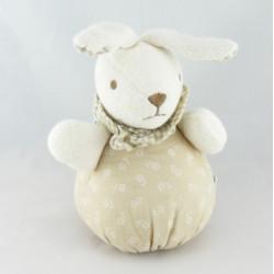 Doudou lapin beige NOUNOURS