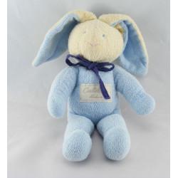 Doudou lapin bleu Calidoux Nature HISTOIRE D'OURS
