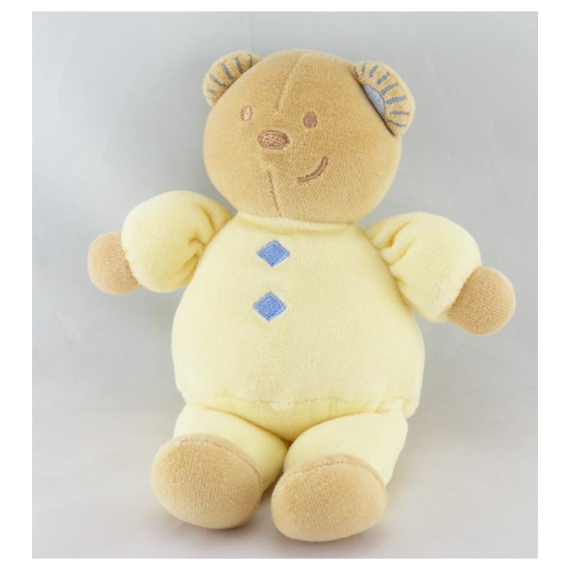 Doudou ours jaune TEX