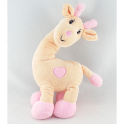 Doudou Girafe rose Arthur et Lola