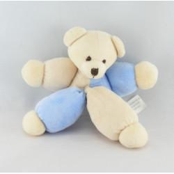 Doudou ours bleu bonnet CMP