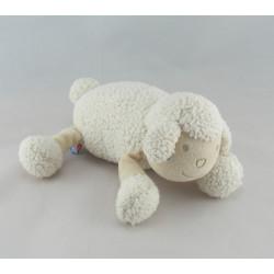 Doudou mouton blanc SUCRE D'ORGE