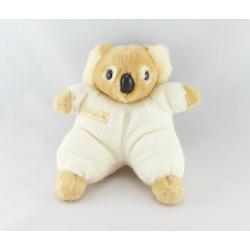 Doudou koala beige ecru BEBISOL lot de 2