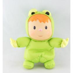 Doudou Cotoons vert Wabap SMOBY