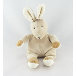 Doudou lapin blanc gilet rose JELLY KITTEN JELLYCAT