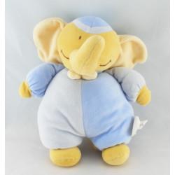 Doudou éléphant bleu BENGY