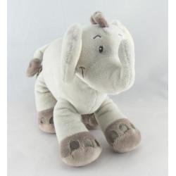 Doudou plat éléphant MOTS D'ENFANTS