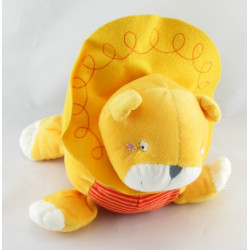 Doudou musical tortue rouge orange IKEA