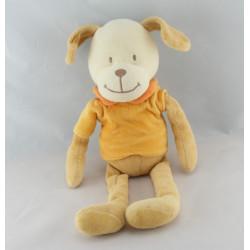 Doudou chien beige écru MOTS D'ENFANTS