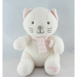 Doudou Chat rose Luminou