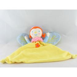 Doudou fée papillon jaune KATHERINE ROUMANOFF