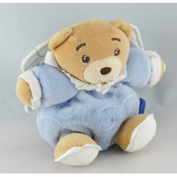 Mini Doudou ours vichy carreaux bleu KALOO