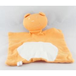 Doudou lapin beige couché MGM DODO D'AMOUR