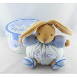 Doudou ours boule bleu blue K kaloo