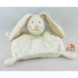 Doudou lapin blanc beige NICOTOY