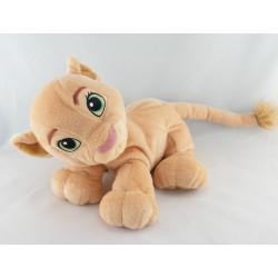 Peluche Kiara le roi lion allongé DISNEY