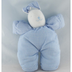 Doudou ours rose vichy SIMPSON TRADING