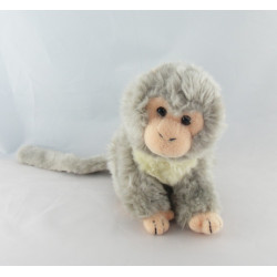 Doudou singe écru beige NICOTOY