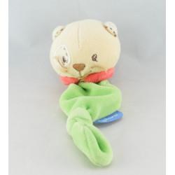 Mini Doudou ours vichy carreaux bleu KALOO