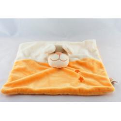Doudou chien beige orange étoile DOUKIDOU