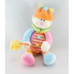 Doudou Musical Clown multicolores JOLLYBABY