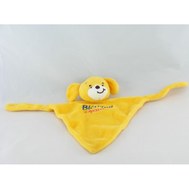 Doudou plat chien jaune BLEDILAIT CROISSANCE