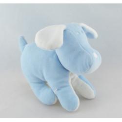 Doudou range pyjama chien bleu SUCRE D'ORGE
